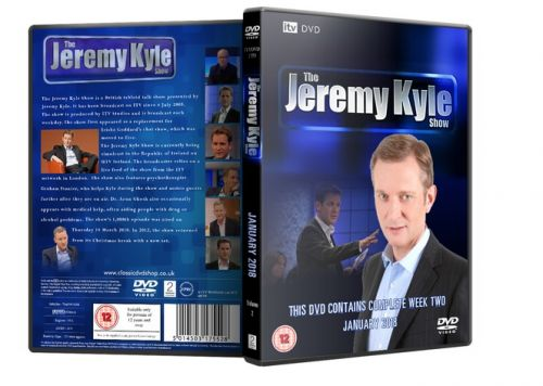 ITV DVD - The Jeremy Kyle Show Jan 2018 Week Two DVD - Classic DVD Shop